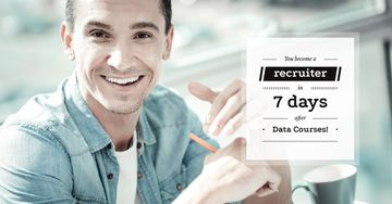 advertisement banner for data courses