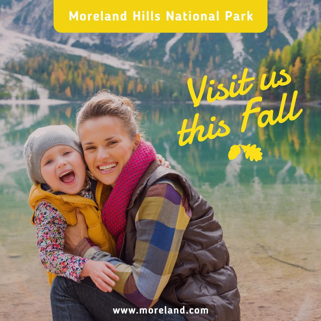 Advertisement poster for Moreland Hills National park — ein Design erstellen