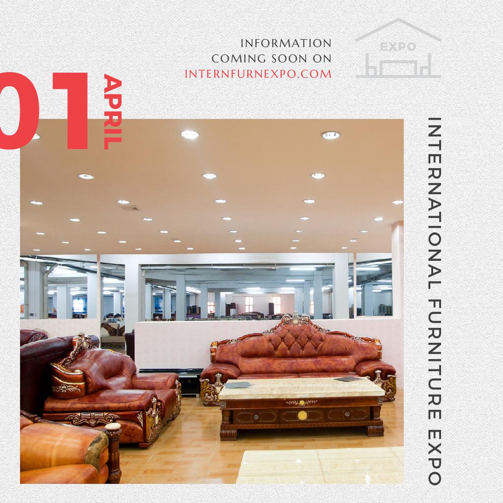 International Furniture Expo — Créer un visuel