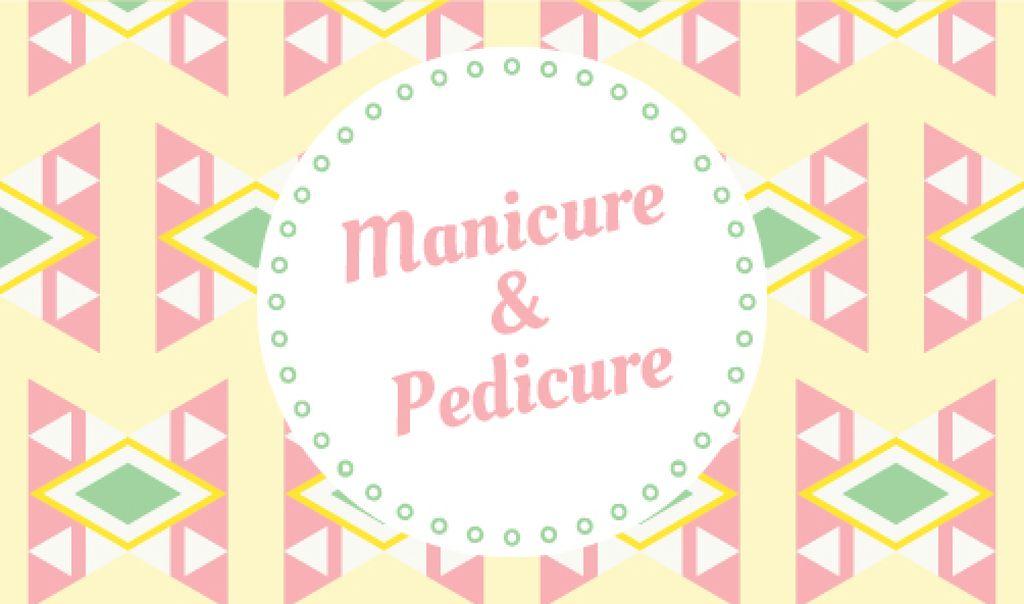 Manicure and pedicure Offer — ein Design erstellen