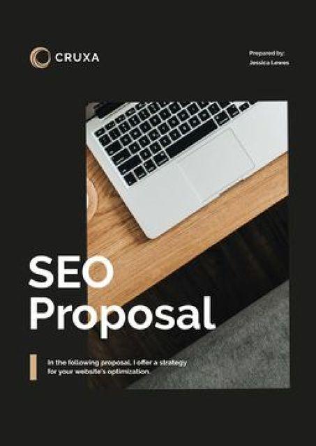 Plantilla de diseño de SEO services for Business Proposal