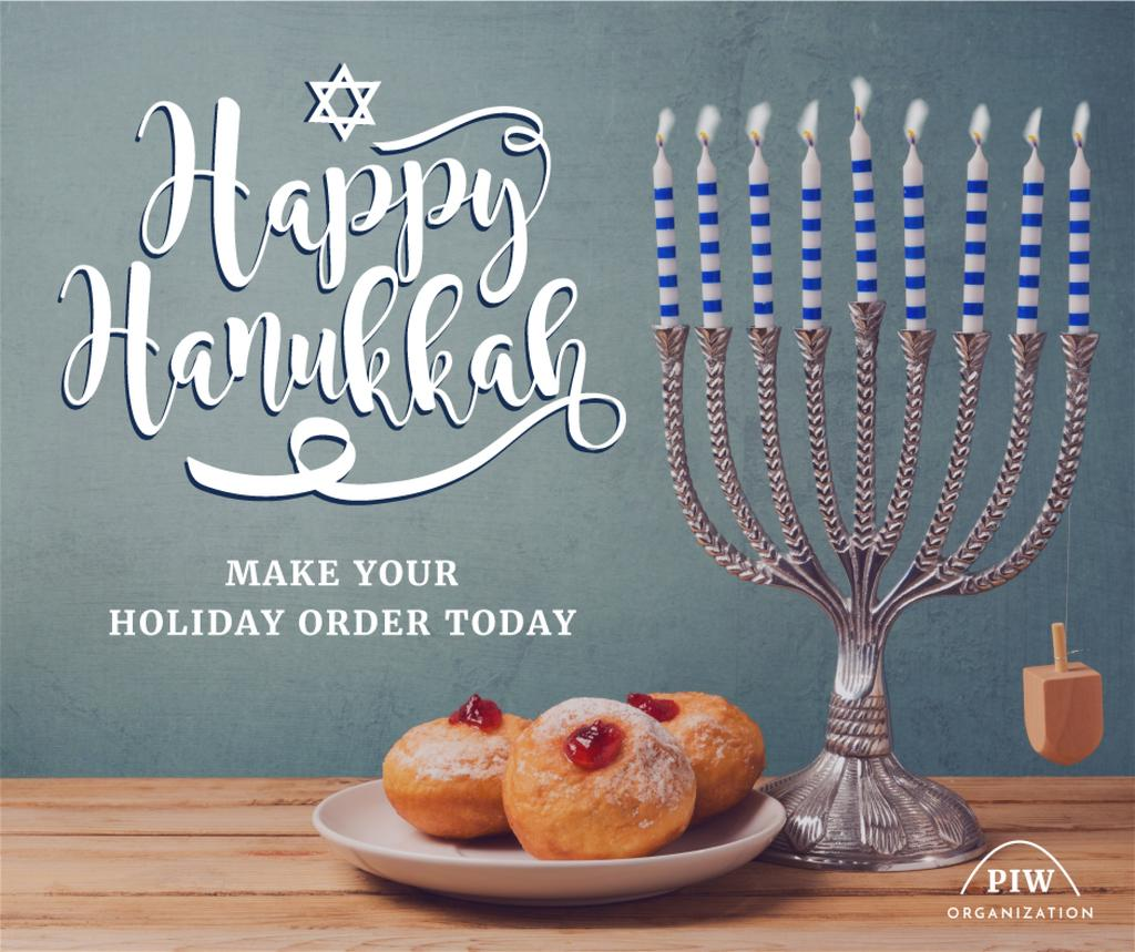 Happy Hanukkah card   — Create a Design