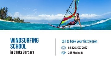 Windsurfing school Offer