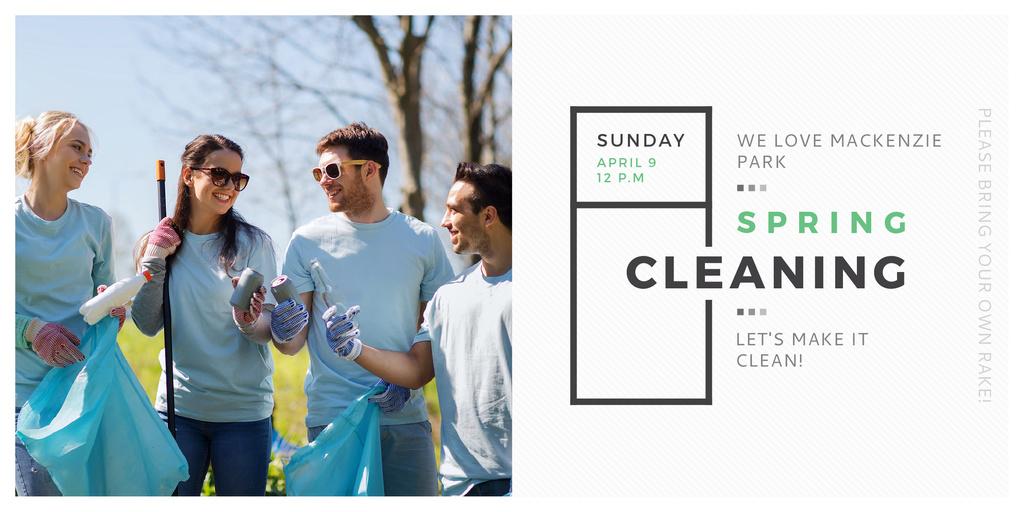 Spring Cleaning in Mackenzie park — Создать дизайн