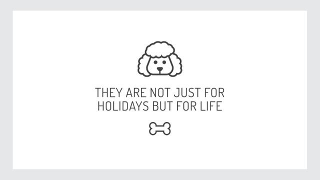 Citation about dog pet Youtube Modelo de Design
