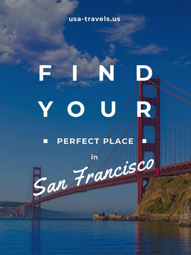San Francisco city banner — Crea un design
