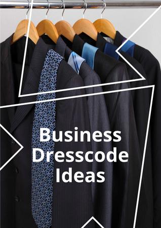 Ontwerpsjabloon van Poster van Business Dresscode Ideas