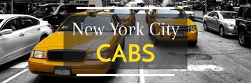 Taxi Cars in New York | Email Header Template