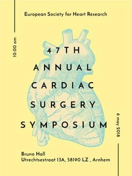 annual cardiac surgery symposium poster