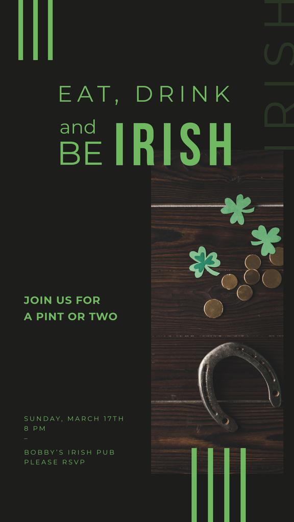 Saint Patrick's Day card — Crear un diseño