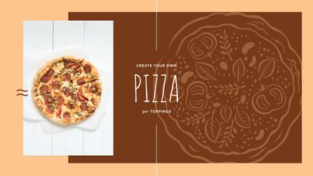 Template di design Hot Italian pizza Youtube