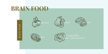 Plantilla de diseño de Healthy food choice Image