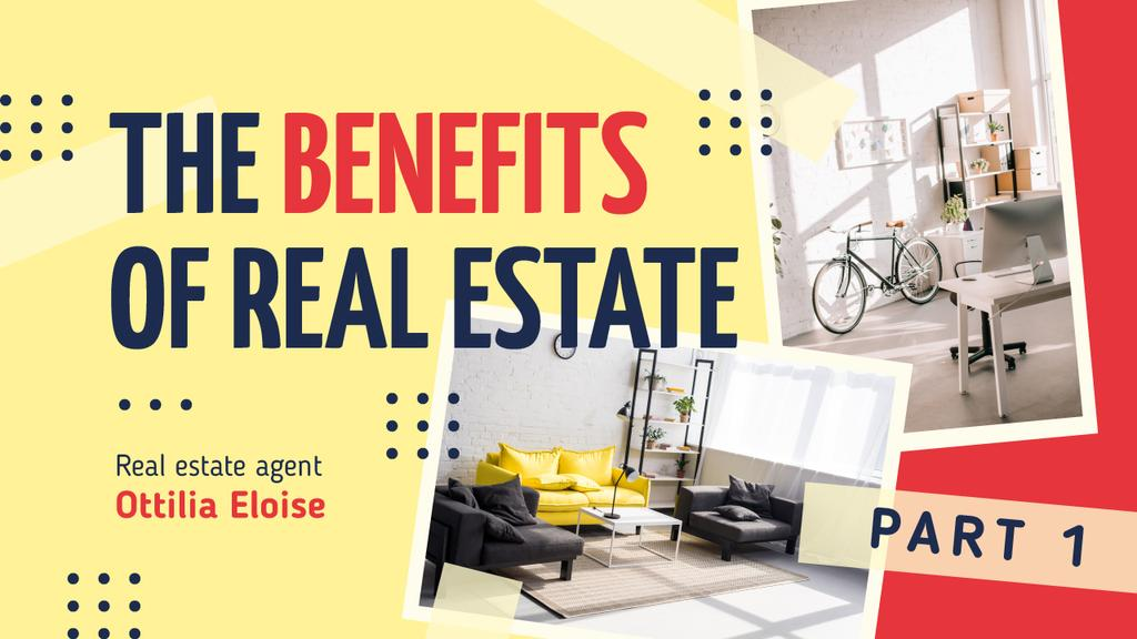 Real Estate Ad Modern Interior in White — Create a Design