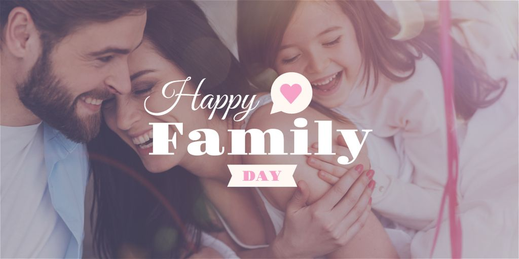 happy family day poster — ein Design erstellen