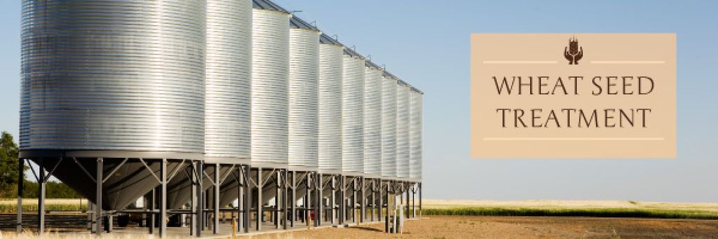 Agriculture Large Industrial Containers | Email Header Template — Crea un design
