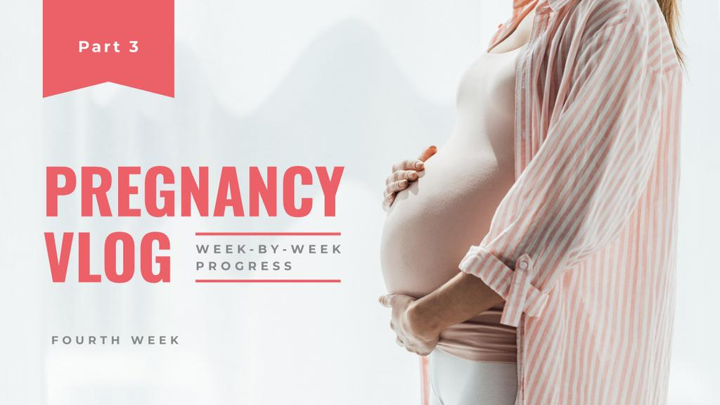 Pregnancy Vlog Promotion — Crea un design
