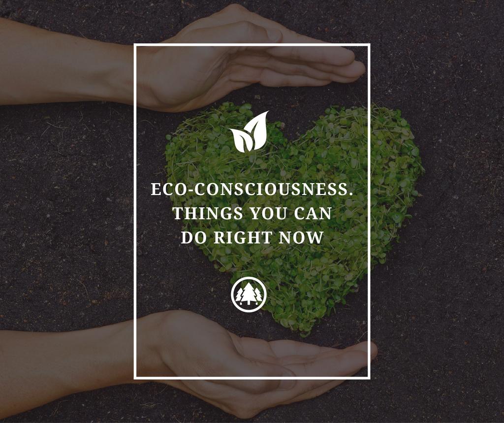 Eco-consciousness concept — Создать дизайн
