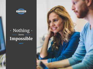 Nothing seems impossible poster