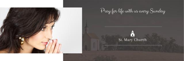 St. Mary Church Twitter – шаблон для дизайна