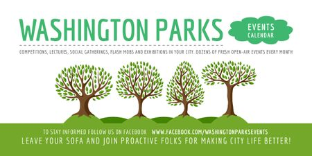 Modèle de visuel Events in Washington parks - Image
