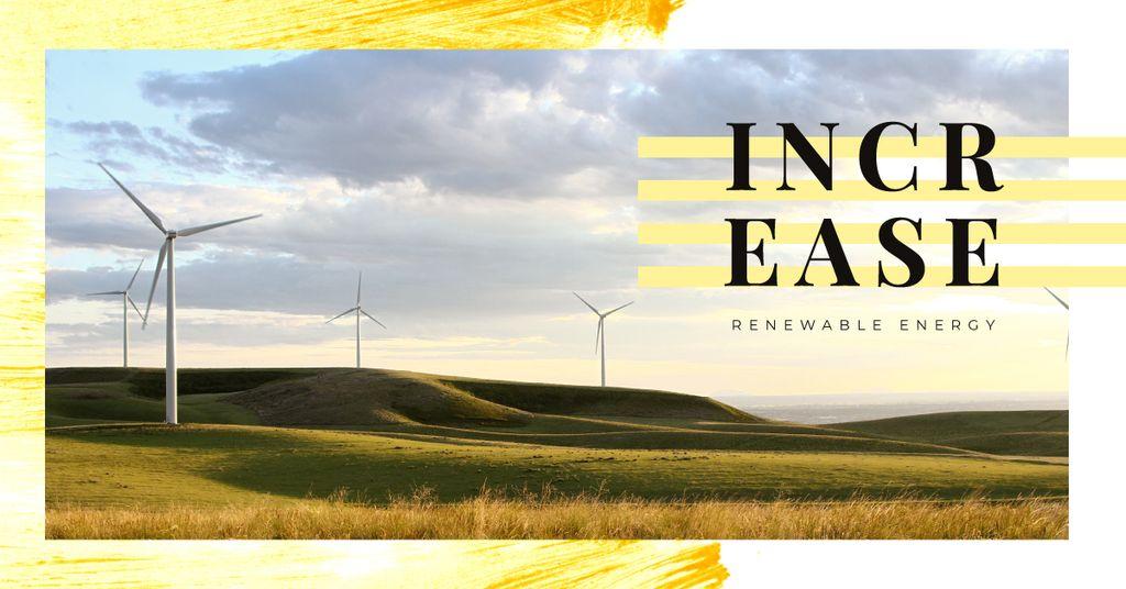 Wind turbines farm — Crea un design