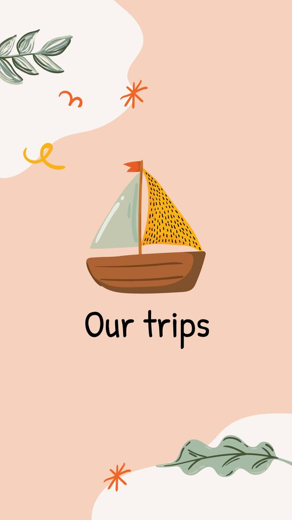 Travel agency icons and Summer inspiration — Створити дизайн