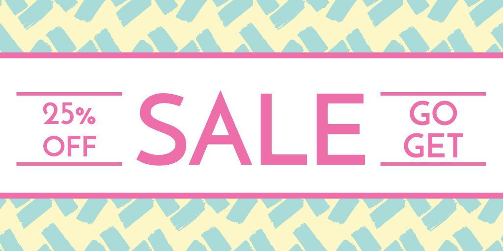 Store sale banner — Create a Design