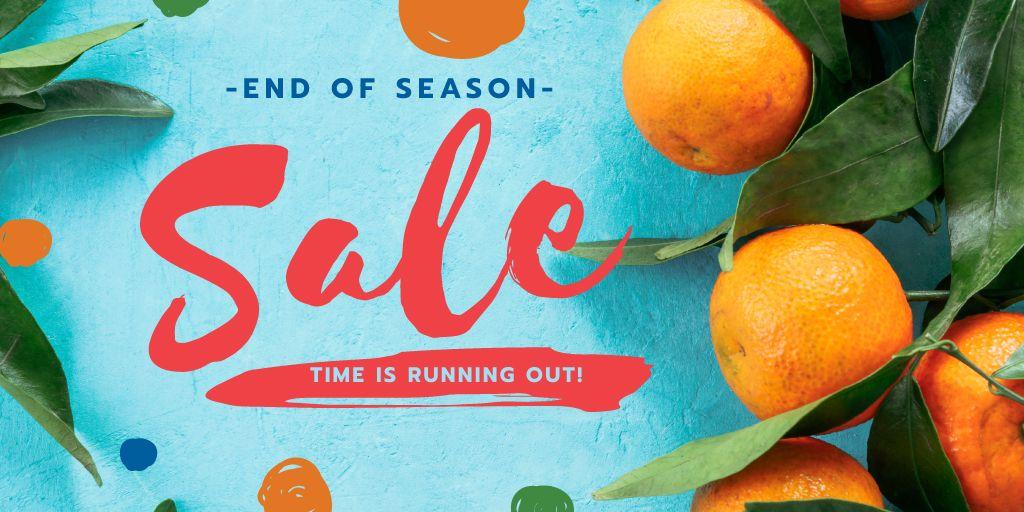 Ripe oranges on a branch — Maak een ontwerp