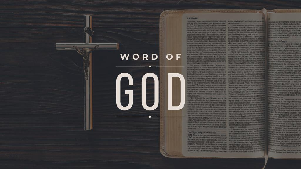 Holy Bible and Jesus Christ On Cross the crucifixion — Create a Design