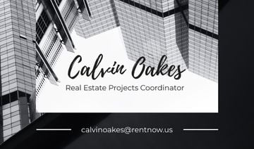 Real Estate Coordinator Ad Glass Buildings