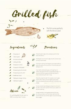 Grilled Fish illustration