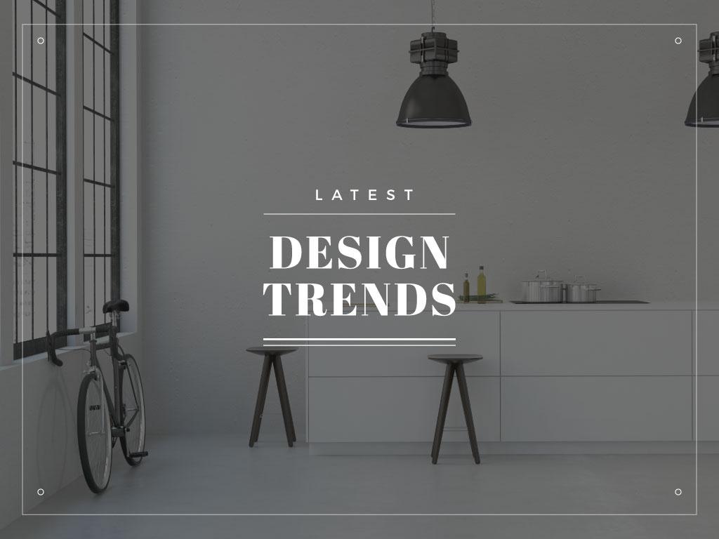 Latest design trends — Créer un visuel