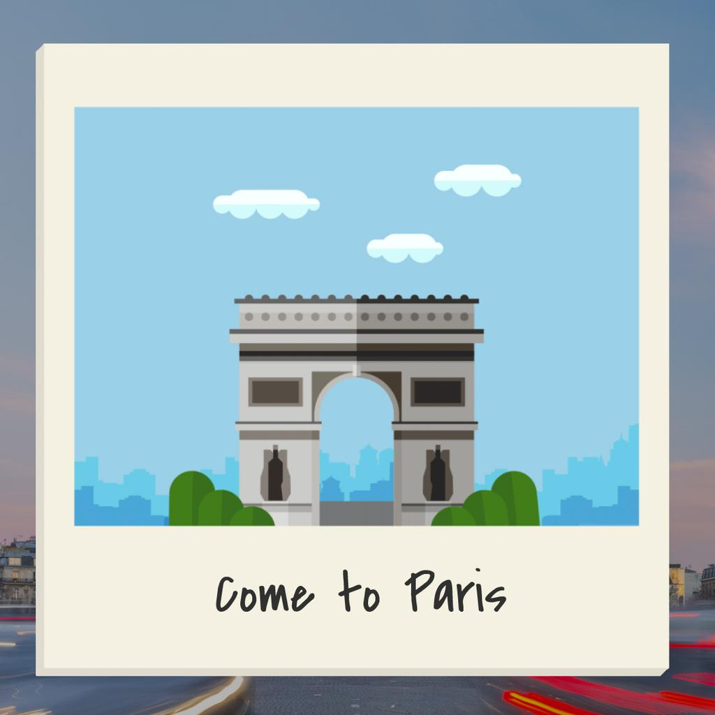 Come To Paris - Bir Tasarım Oluşturun