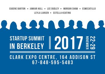 Startup summit Announcement