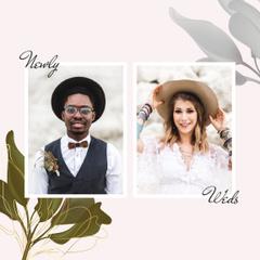 Wedding shooting with young Newlyweds