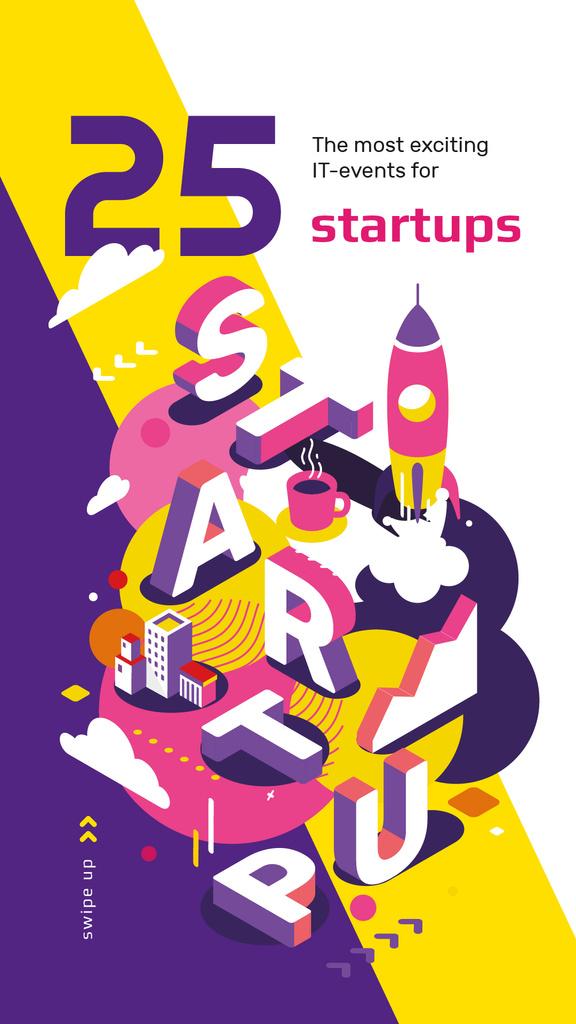 Business startup inscription — Створити дизайн