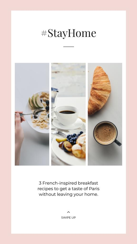 #StayHome French breakfast Recipes — Create a Design