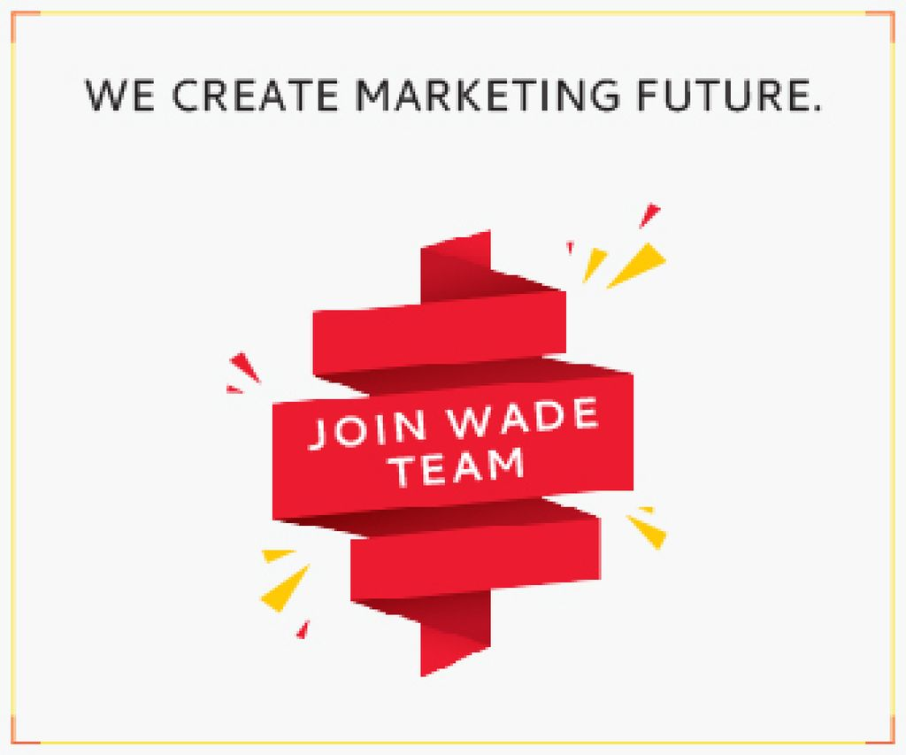Wade team poster — Создать дизайн