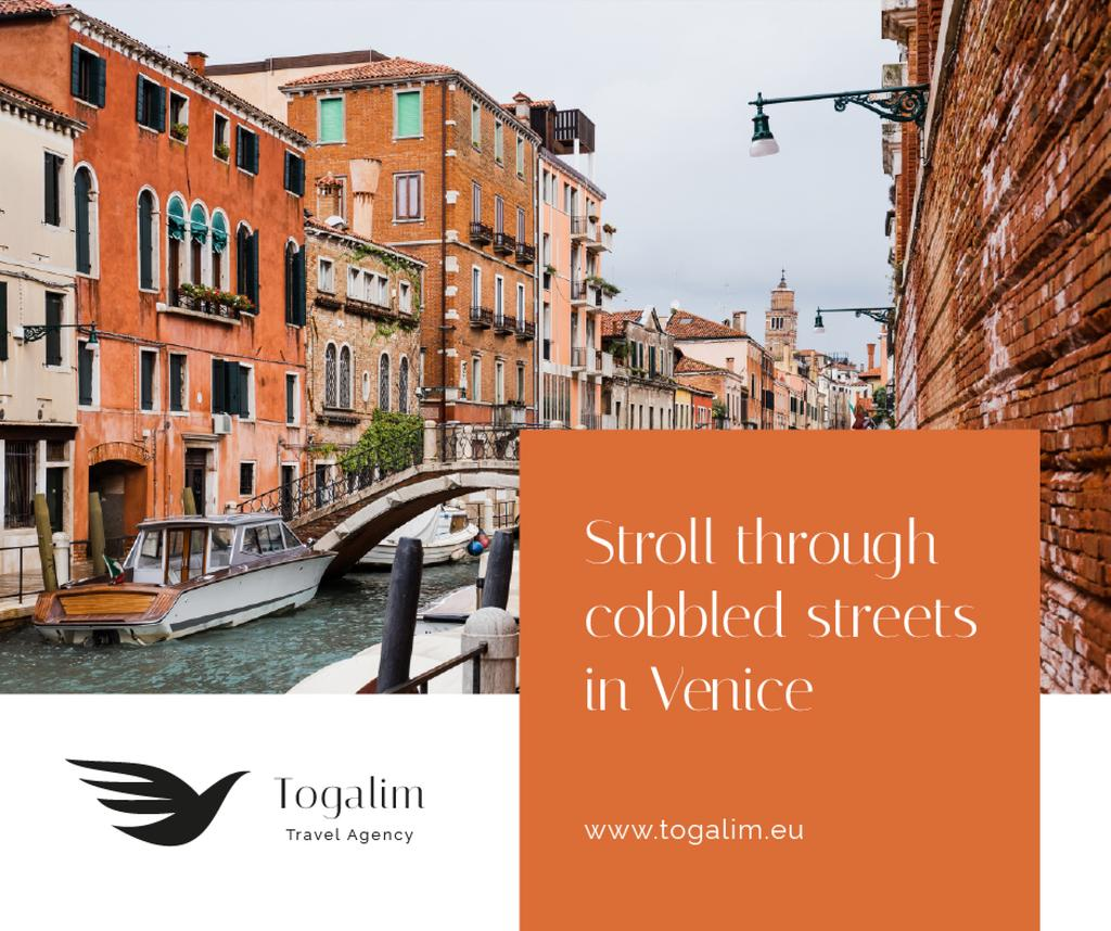 Venice city travel tours — Maak een ontwerp