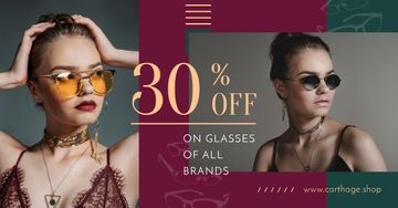 Glasses Offer Women Wearing Sunglasses