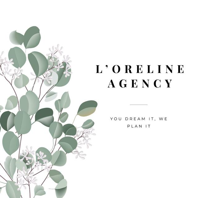 Ontwerpsjabloon van Instagram van Wedding Planning Agency promotion