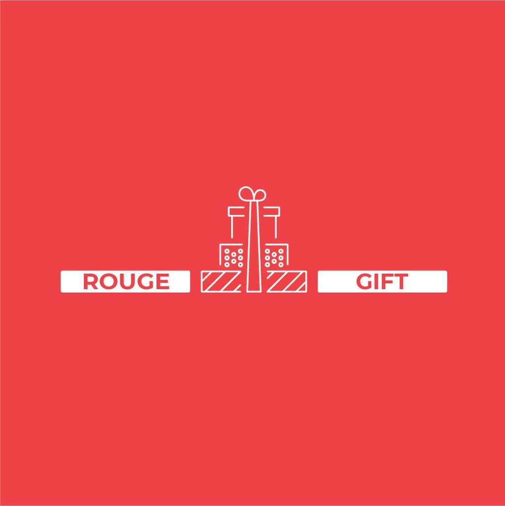 Stack of Gifts in Red | Logo Template — Створити дизайн