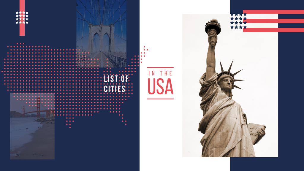 New York sightseeing spots — Создать дизайн