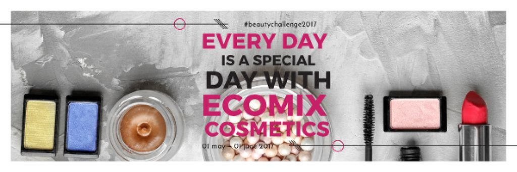 Cosmetic products Set Offer — Crear un diseño