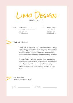 Design Agency official request