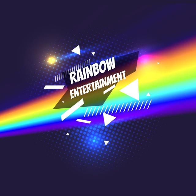 Modèle de visuel Light spectrum with glowing triangle - Animated Post