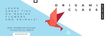 Origami Classes Invitation Bird Paper Figure