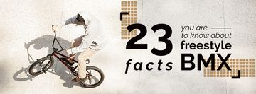 23 facts about freestyle bmx poster