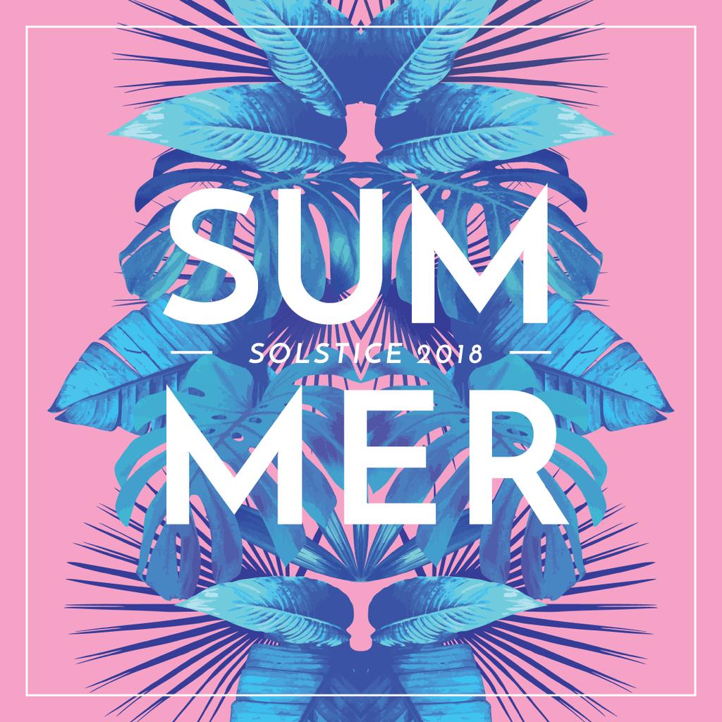Summer solstice 2018 — ein Design erstellen