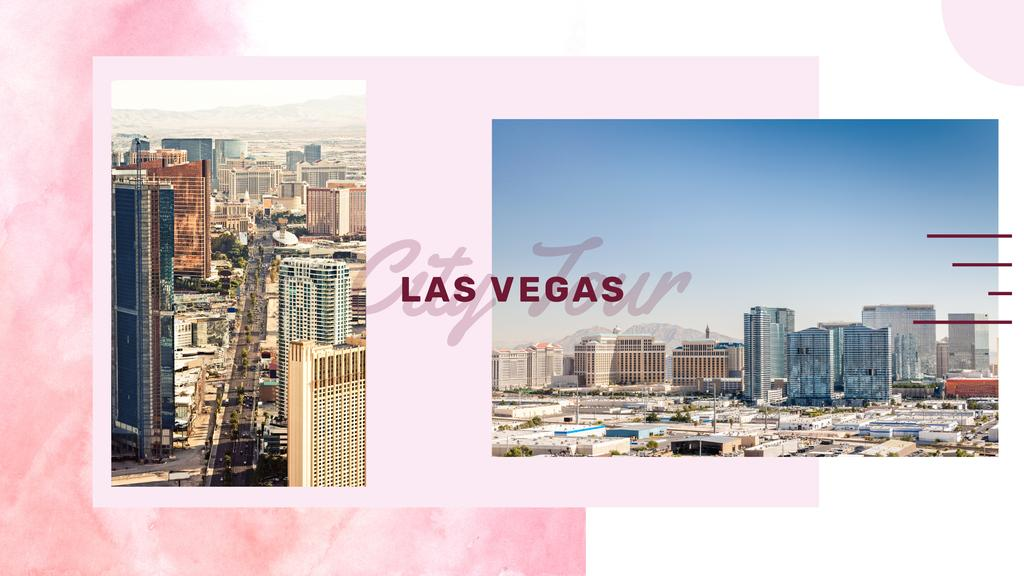 Las Vegas city view — Crea un design